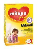 Milupa  Aдаптирано бебешко мляко MILUMIL 3 600гр. 12-36м